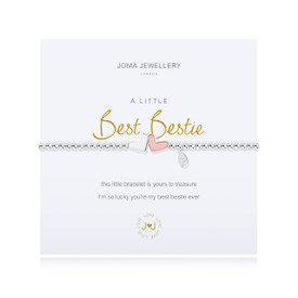 Joma Jewellery a little - BEST BESTIE - bracelet + Gift Bag/Tag