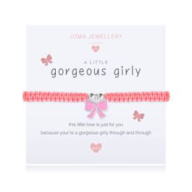Joma Jewellery a little GORGEOUS GIRLY - children bracelet + Gift Bag/Tag