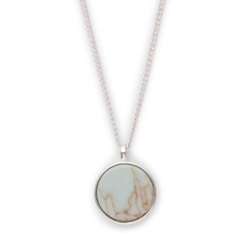 Pilgrim Mina Necklace Silver Plated 40+ 9cm