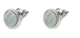 Pilgrim Mina Stud Earrings Silver Plated