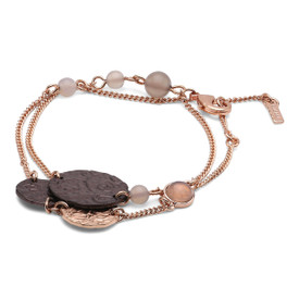 Pilgrim Angelina Bracelet Rose Gold Plated