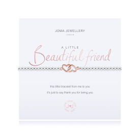 Joma Jewellery a little - BEAUTIFUL FRIEND - bracelet  + Gift Bag/Tag