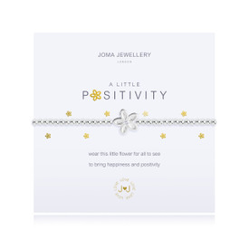 Joma Jewellery a little - POSITIVITY - bracelet  + Gift Bag/Tag