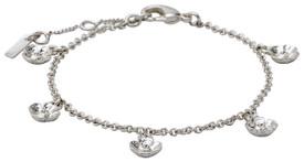 Pilgrim Bracelet : Isabel : Silver Plated : Crystal Crystal 601816062
