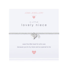 Joma Jewellery Childrens/Girls A Little Lovely Niece Bracelet + Gift Bag/Tag