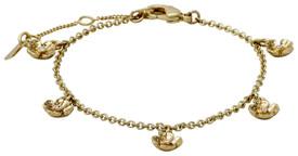 Pilgrim Bracelet : Isabel Gold Plated : Crystal Crystal 601812062