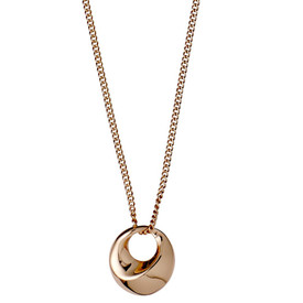 Pilgrim Necklace : Manuela Rose Gold Plated - 141714001 40cm + 9cm