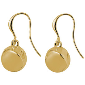 Pilgrim MANUELA PI Drop Earrings Gold Plated 641732013