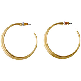 Pilgrim Noreen Hoop Drop Earrings Gold Plated 211742723