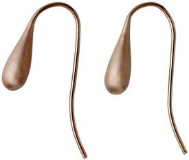 Pilgrim Teardop Drop Earrings Rose Plated 601814083