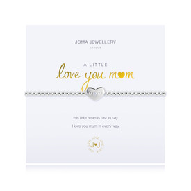 Joma A Little I love You Mum Bracelet Silver Plated + Gift Bag