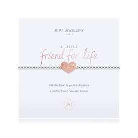 Joma Jewellery a little FRIEND FOR LIFE Bracelet  + Gift Bag/Tag