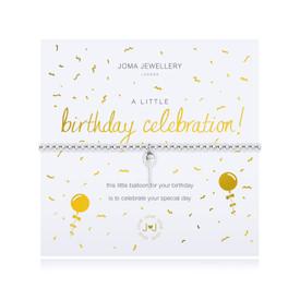 Joma Jewellery a little Birthday Celebration Bracelet  + Gift Bag/Tag