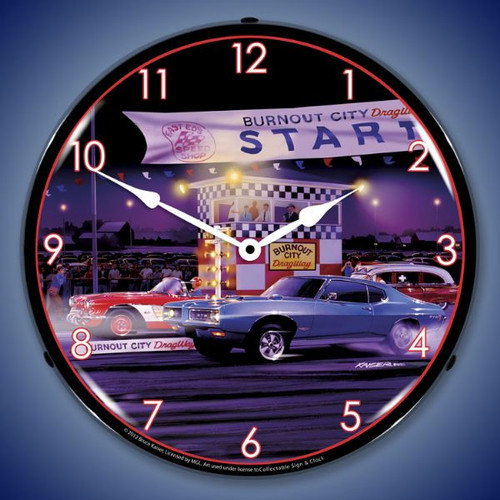 Rca Victor Lighted Wall Clock