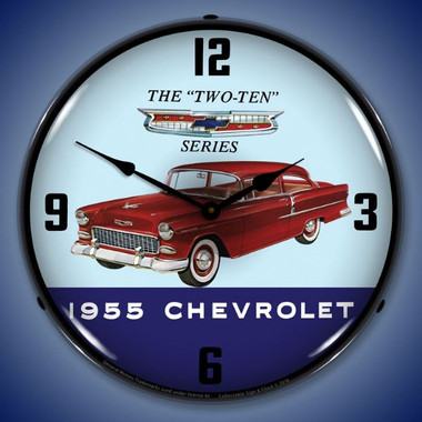 rustic bathrooms pictures 1955 chevrolet two ten lighted wall clock 14 x 14 inches 14309