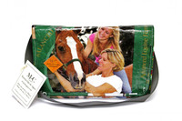 Messenger Bolsa - Green Horse - Safe & Sound