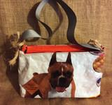 Purse Bolsa - Orange Dog - Key Can