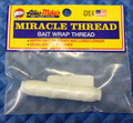 Atlas Mike's 100' Miracle Thread Bait Wrap Thread White 66800