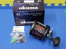 Okuma Convector CV 55L Levelwind Reel Pre-Spooled With 15-Colors Lead Core