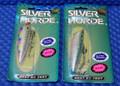Silver Horde Plugs 4 Ultra Violet Mylar 2003-000 Series CHOOSE YOUR COLOR!