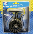 Clam Gravity Reel-Graphite Precision Lure Deployment Item 14480 Clam Pack