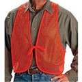 ALLEN BLAZE ORANGE MESH SAFETY VEST #15750