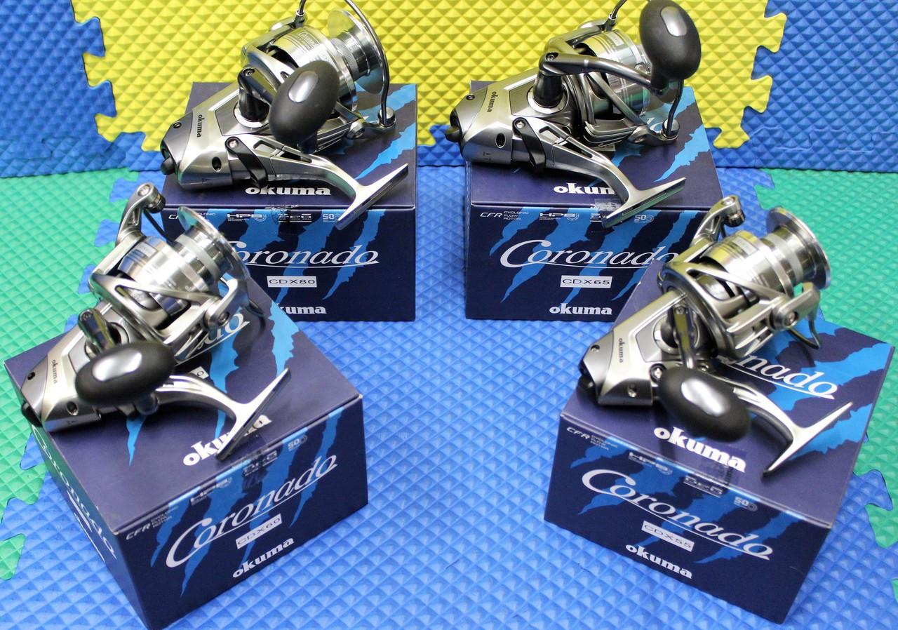 Okuma Coronado Baitfeeder Spinning Reel 5BRG CDX Series