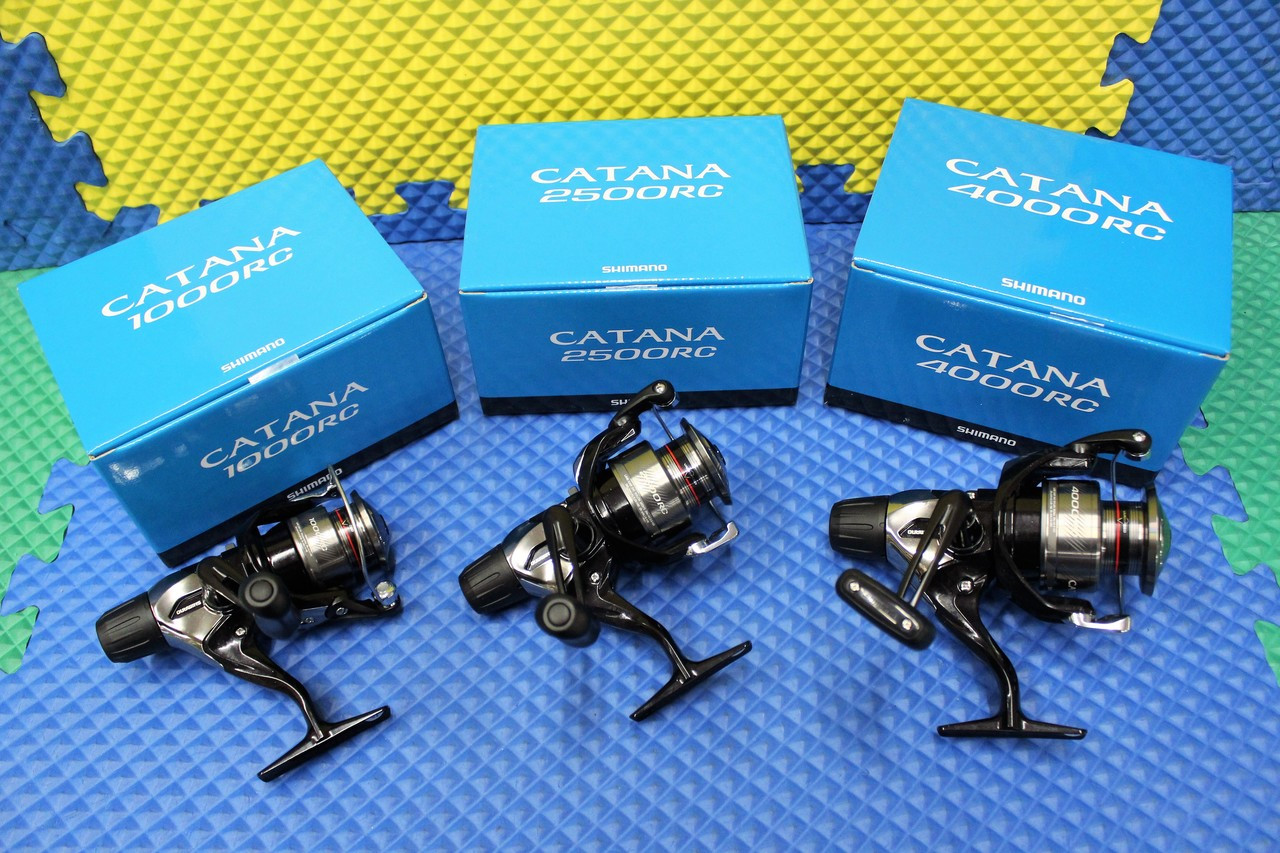 826e141ae1a Shimano Catana Blue Box RC Rear Drag Spinning Reel Freshwater