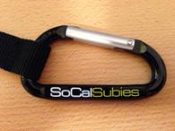 SoCalSubies Carabiner Key Chain