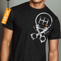 Crossrods T-Shirt by Raceseng