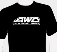 AWD Do It On All Fours T-Shirt (Front)
