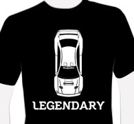 Legendary SUBARU 22B T-Shirt