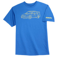 Subaru Tec Drawing T-Shirt