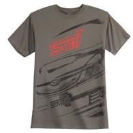 Subaru STI Oversized Print Shirt