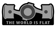 The World Is Flat Air Freshener