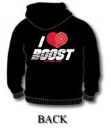 I Heart Boost Hoodie (Back)