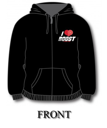 I Heart Boost Hoodie (Front)
