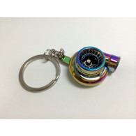 Spinning Turbo Keychain