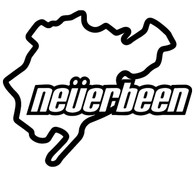 Nurburgring Neverbeen Decal