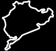 Nurburgring Decal - Outline