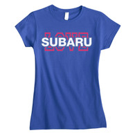 Subaru Love T-Shirt - Ladies