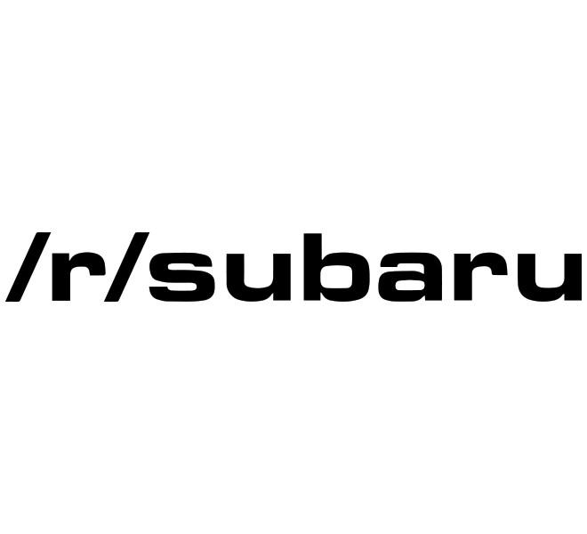 Subie Reddit Decal