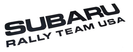 Subaru Rally Team USA Vinyl Decal
