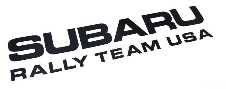 Subaru Rally Team Usa Sticker Subaru Rally Team Sticker Subaru