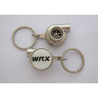 WRX Spinning Turbo Keychain