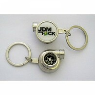 JDM As F*ck Spinning Turbo Keychain