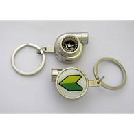 JDM Shoshinsha Spinning Turbo Keychain