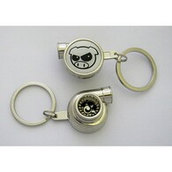 Angry Pig Spinning Turbo Keychain