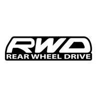 RWD High Gloss Decal - Rear Wheel Drive BRZ