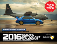2016 SUBARU Enthusiast Calendar - Cover